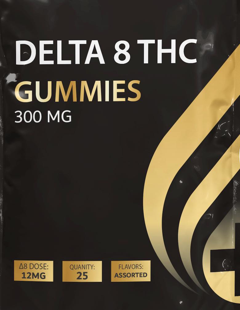 Delta 8 THC Gummies 300MG Assorted Flavors