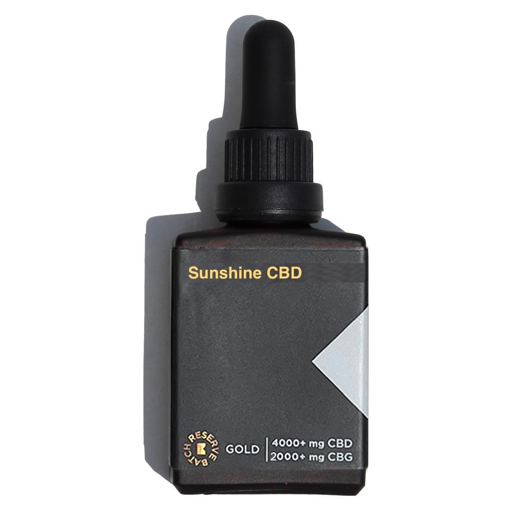 Sunshine CBD 6000mg CBD+CBG Gold Reserve
